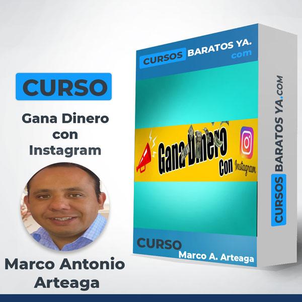 Gana Dinero con Instagram - Marco Antonio Arteaga