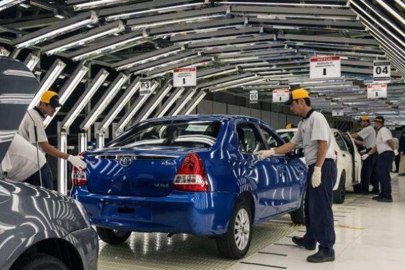 As Vagas de emprego na Toyota