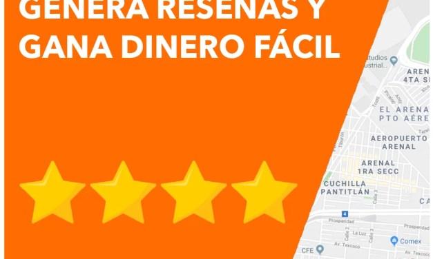 Genera Reseñas en Google Maps y Gana Dinero