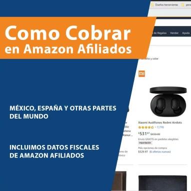 Como cobrar en Amazon Afiliados