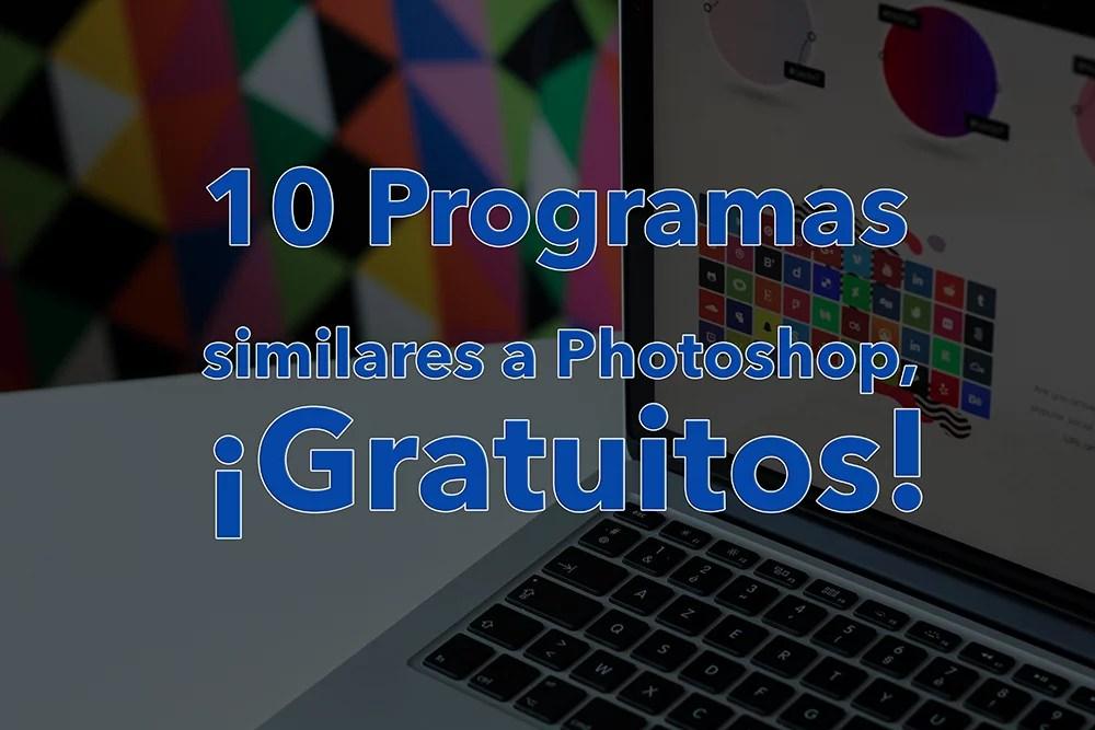 Programas similares a Photoshop