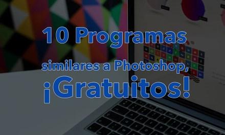 10 Programas similares a Photoshop, ¡Gratuitos!