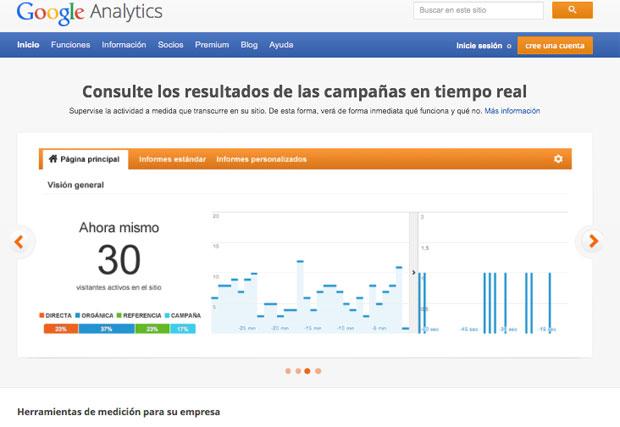 Descárgate el manual Google Analytics