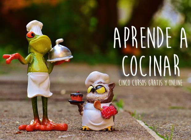 Aprender a cocinar cinco cursos gratis que debes realizar for Aprender a cocinar