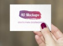 49 mockup gratis para diseñadores