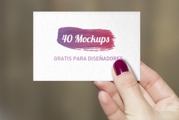 49 mockup gratis para diseñar