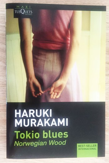 portada del libro tokio blues de Murakami