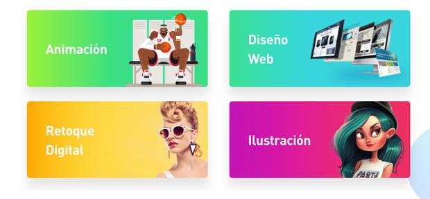 cursos gratis de Crehana sobre diseño