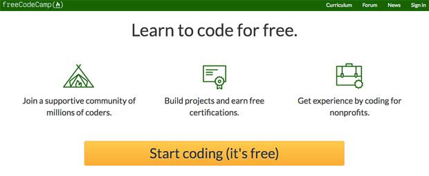 freecodecamp, la web para aprender a programar gratis