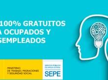 cursos gratis del SEPE