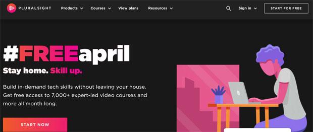 Pluralsight pone sus cursos gratis durante Abril de 2020