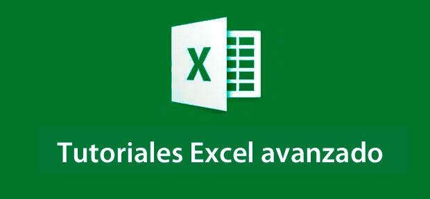 tutoriales Excel nivel avanzado