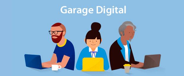 cursos garage digital