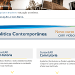 Cursos gratuitos online do Senado Federal