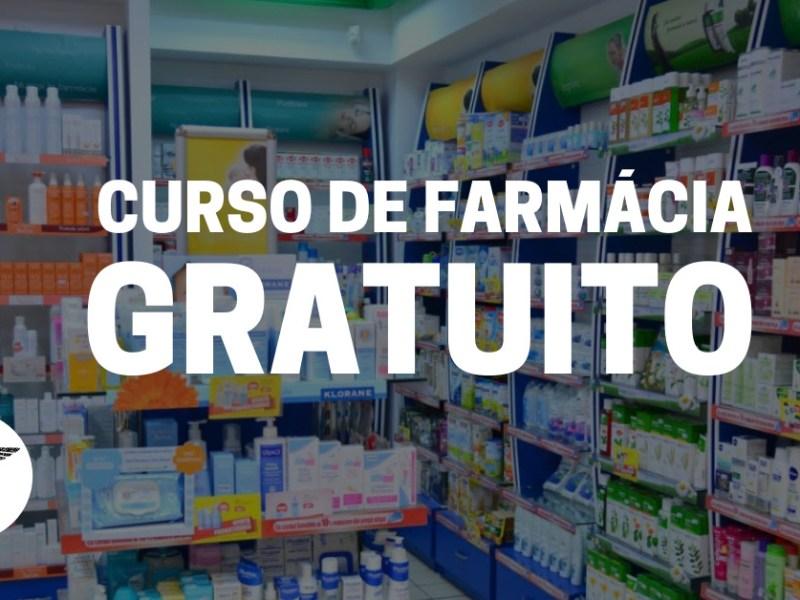 Curso técnico de Farmácia gratuito