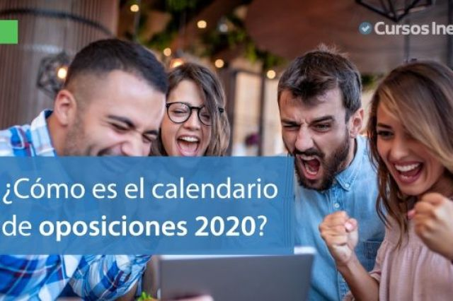 Calendario oposiciones