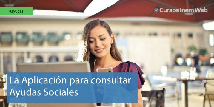 Aplicación para consultar las ayudas sociales