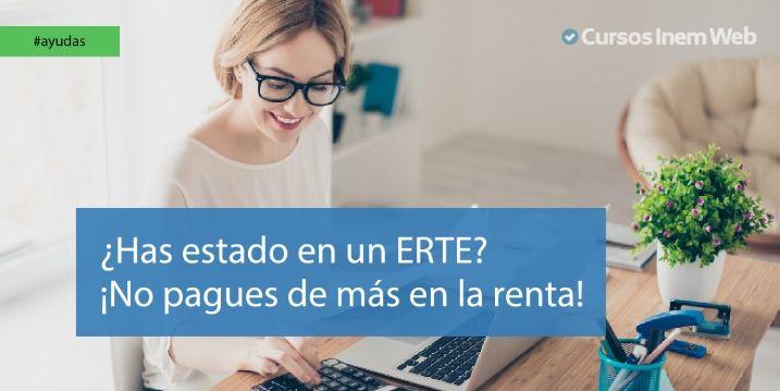 Declaración de la renta y ERTE