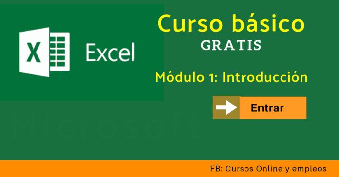 Curso Excel online por Microsoft Windows