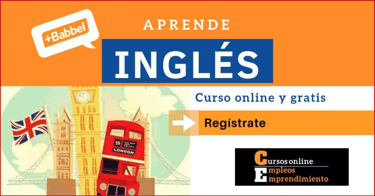 curso ingles gratis Babbel