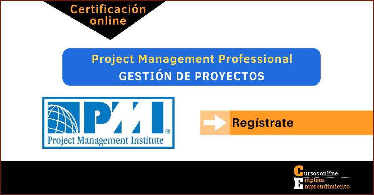 pmi certificacion pmp
