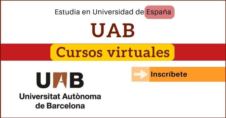 UAB cursos virtuales