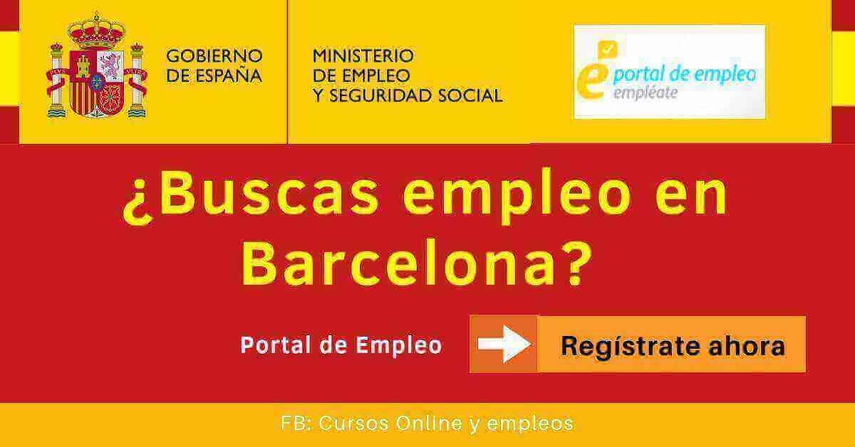 Empléate busco trabajo en Barcelona