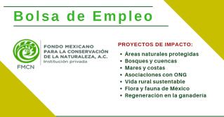 FMCN empleos en ecología y medio ambiente