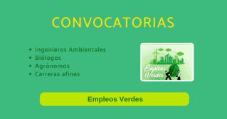 Ofertas empleo verde vacantes medio ambiente