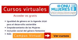 Cursos online ONU Mujeres derechos de la mujer