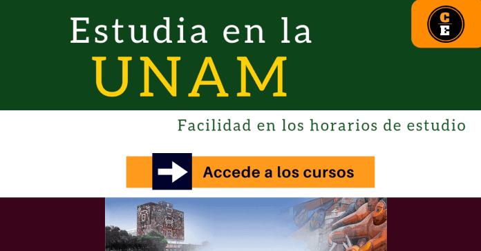 convocatoria UNAM cursos vituales