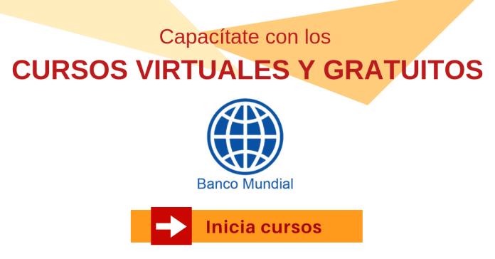Banco Mundial cursos a distancia