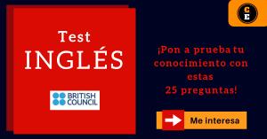 British Council learning english test prueba