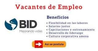 BID vacantes empleo