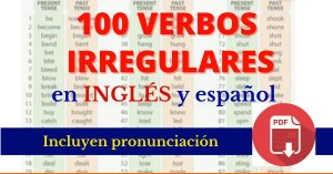 verbos irregulares en inglés lista