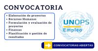UNOPS ONU vacantes Gestión de Proyectos