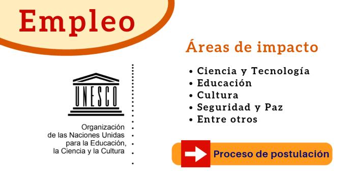 UNESCO ofertas de empleo