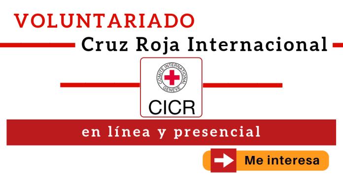Voluntariado Cruz Roja convocatoria en linea