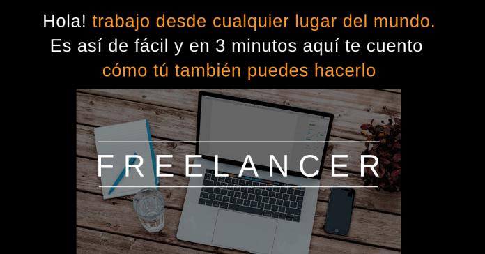 Freelancer trabajos desde casa
