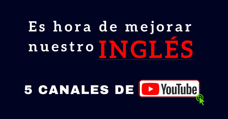 videos en inglés canales de YouTube para aprender inglés