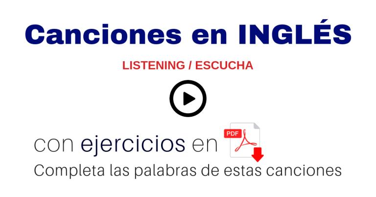 Aprender Inglés Con Canciones Y Letras En Inglés En Pdf English Music
