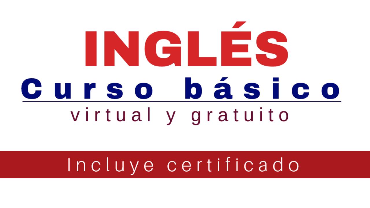 Curso de inglés básico : inglés para principiantes [Gratuito y certificado]