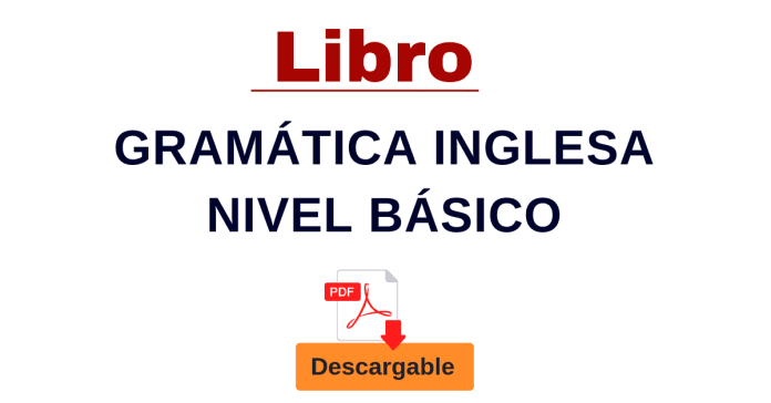 gramatica ingles con PDF descargable