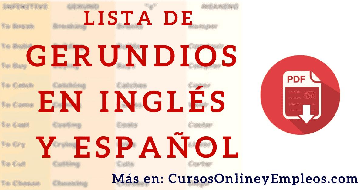 Gerundio En Inglés Qué Es Y Cómo Se Utiliza El Ing En Inglés Grammar