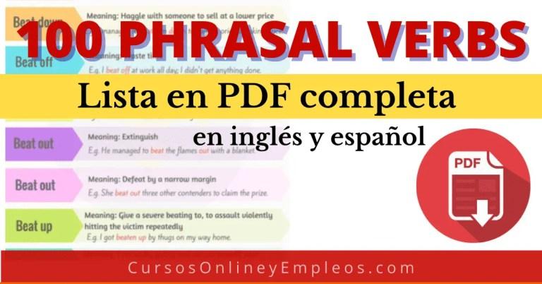 Phrasal verbs pdf