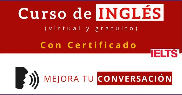 Curso de inglés gratis con certificado