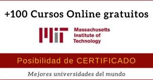 universidad MIT cursos online gratis