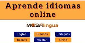 mosalingua idiomas