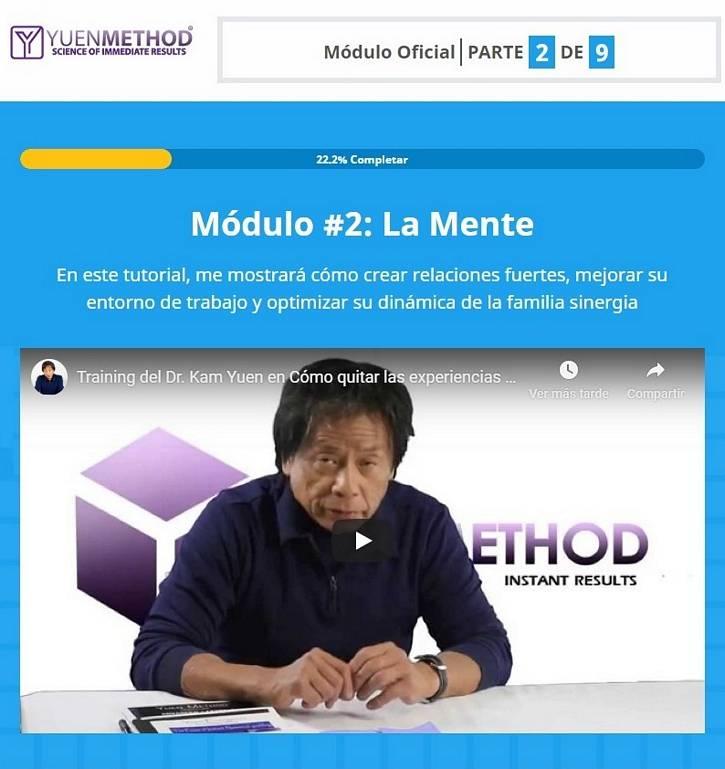 Método Yuen Módulo 2 La Mente - Dr. Kam Yuen 2