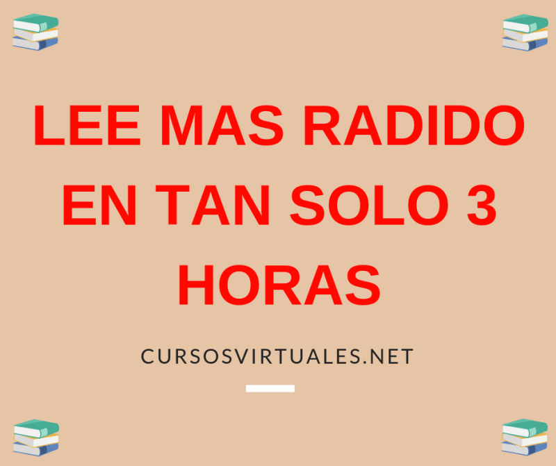 lee mas radio en tan solo 3 horas